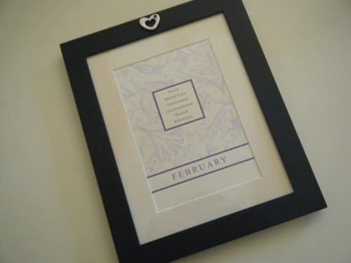 Supplies: Frame