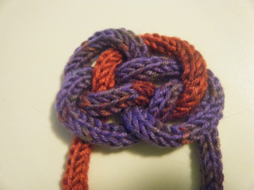 Knitting Starting Knot : What remains now archive try this spool knitted