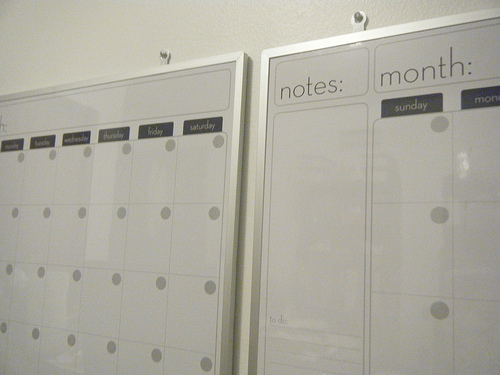 Keeping Track Wall Calendars