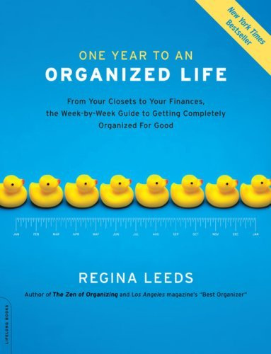 One Year To An Organized Life Book