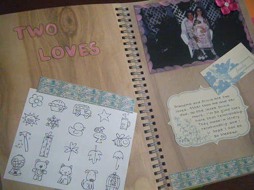 Art Journal Two Loves