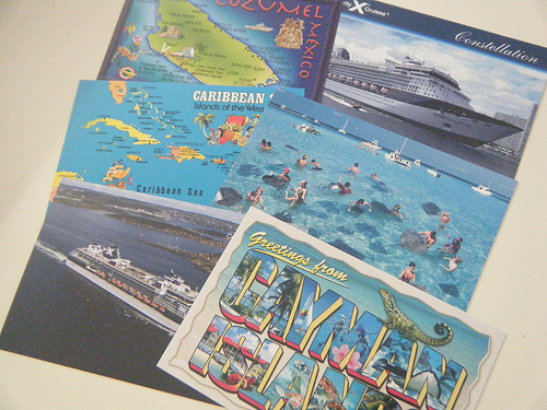 Cruise Postcards