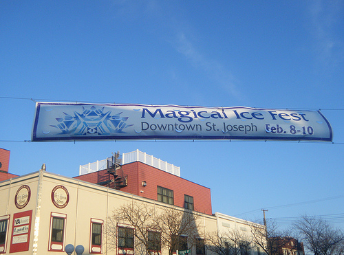 Magical Ice Fest Banner