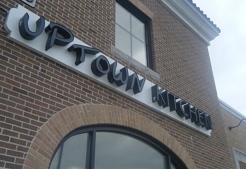 Uptown Kitchen Sign