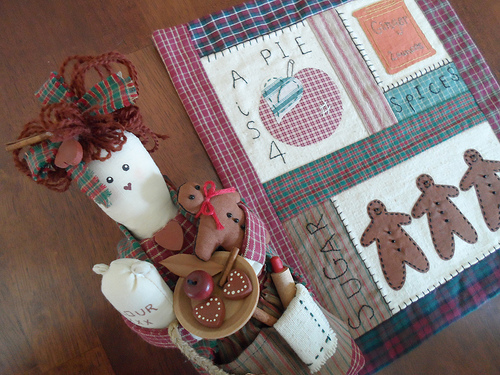 Fall Doll & Quilt