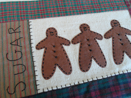 Gingerbread Detail