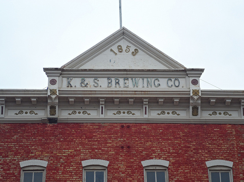 K & S Brewing Company Main Building Detail