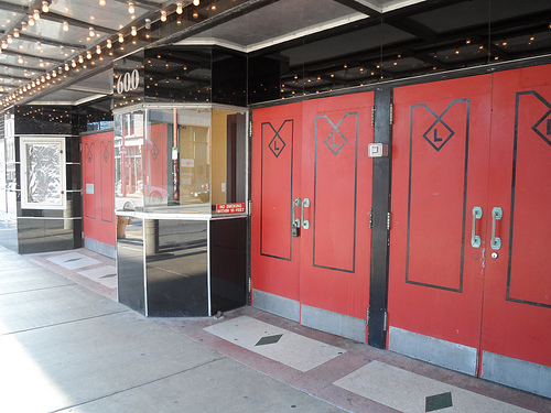 Lafayette Theater Entrance