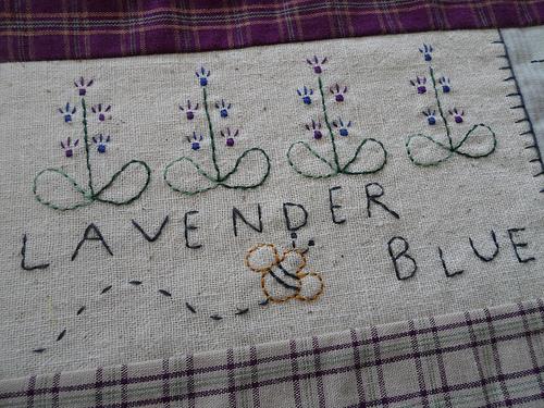 Lavender Blue Detail