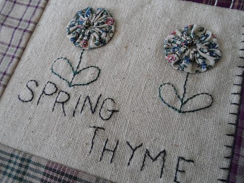 Spring Thyme Detail