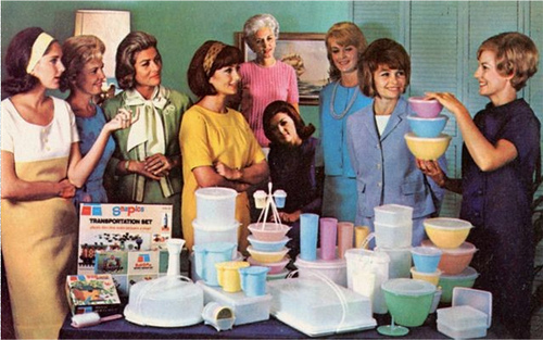 Retro Tupperware Party