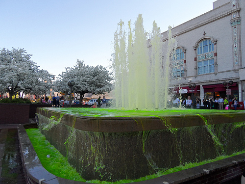 Wicked Green Fountain