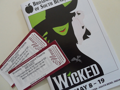 Wicked Tickets & Program