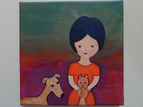 Cat & Dog Girl