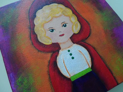 Little Red Riding Hood Girl 2