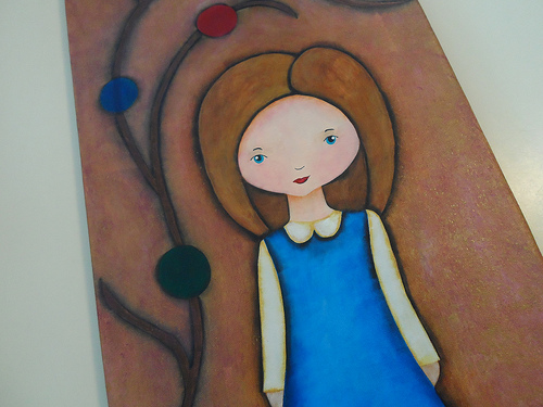 School Days Girl Detail