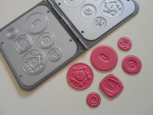 Sweet Buttons Embosslits