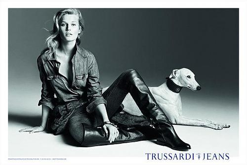 Trussardi Jeans Advertisement